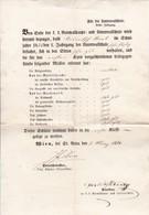 Schulzeugnis Wien St. Anna - 1954 (41544) - Diploma & School Reports