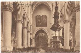 9Dp-819: Bob Herenthals St Waldetrudiskerk Binnen / Eglise  Waudru Intérieur > Antwerpen 1921 - Herentals