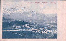 Italie, Panorama Seghe, Schiri, Arsiero, Censura (15.3.1917) - Italia