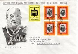 D+ Deutschland 1971 Mi 658 Wilhelm I. (UNIKAT / ÙNICO / PIÉCE UNIQUE / JEDINEČNÝ) - BRD