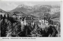AK 0246  Semmering - Südbahnhotel Mit Waldhof Und Raxalpe / Verlag Anderle Um 1940 - Semmering