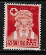 NORWAY  Scott # B 42* VF MINT HINGED (Stamp Scan # 513) - Norway