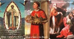 *SAN MARINO - N. 7088/7090 - OPERE D'ARTE* -  Serie Completa NUOVA (MINT) - San Marino