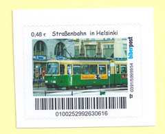 Privatpost - Biberpost - Straßenbahn Tram -  Helsinki - Tranvías