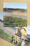 Carte Promo Double Perfume Card WOOD SAGE & SEA SALT * JOE MALONE * R/V * 15 X 15 Cm - Parfumkaarten