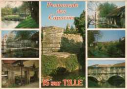 DEP 21 , Cpm IS Sur TILLE , Multivues , Promenade Des Capucins   (D9.949) - Is Sur Tille