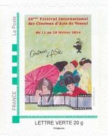 FRANCE  20 Ans Festival International Des Cinémas D'Asie Neuf**. Cinema, Film, Movie. - Collectors