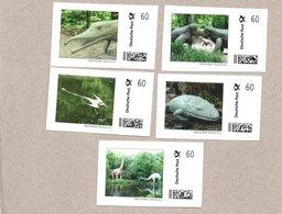 BRD - Marke Individuell - Prähistorische Tiere / Saurier / Dinosaurier - 5 W - Stamps