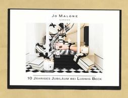 Carte Promo Perfume Card JOE MALONE * R/V *** 1 EX - Parfumkaarten