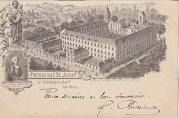 W235   --   STREBERSDORF  --  PENSIONAT ST. JOSEF  --  1906 - Unclassified