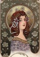 FLOWER FAIRY WOMAN By Raffaele Tafuri New Unposted Postcard - Illustratori & Fotografie