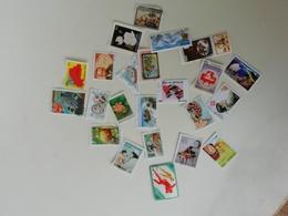 Lot Timbres De Collection Oblitérés, Pays D'Afrique, Nicaragua,Bulgaria,Capaebo 1984,Congo,Kampuchea,Tchad .... - Africa (Other)