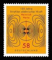 GERMANY 2013 Electromagnetism/Heinrich Hertz: Single Stamp UM/MNH - [7] República Federal