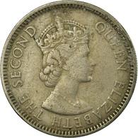 Monnaie, Etats Des Caraibes Orientales, Elizabeth II, 25 Cents, 1965, TB+ - Caraibi Britannici (Territori)
