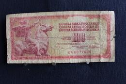 49 /  Yougoslavie 100 Dinars - 1972 -  /  N° BA 6077685 - Yougoslavie