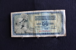 51 /  Yougoslavie 50 Dinars - 1978 -  /  N° AG  9526461 - Yougoslavie