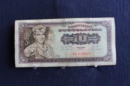 52 /  Yougoslavie 10 Dinars - 1965 -  /  N° DH  469002 - Yougoslavie