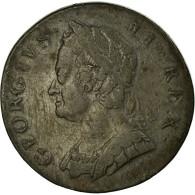 Monnaie, Grande-Bretagne, George II, 1/2 Penny, 1747, TTB, Cuivre, KM:579.2 - 1662-1816 : Acuñaciones Antiguas Fin XVII° - Inicio XIX° S.