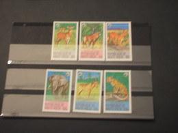 HAUTE VOLTA - 1979 WWF FAUNA 6 VALORI - NUOVI(++) - Alto Volta (1958-1984)