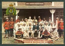 Avec Des Chefs Indiens En 1924. Gendarmerie Royale Du Canada / Royal Canadian Mounted Police. (2985) - Non Classés