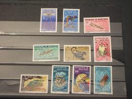 HAUTE VOLTA - 1966 ANIMALI DIVERSI 10  VALORI - NUOVI(++) - Alto Volta (1958-1984)