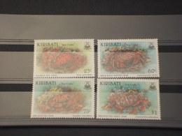 KIRIBATI - 1996 FAUNA MARINA 4  VALORI - NUOVI(++) - Kiribati (1979-...)