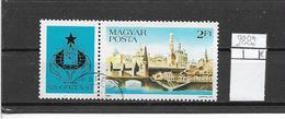 UNGHERIA  1983 SZOCFILEX 83 YVERT.2882 USATO CON VIGNETTA VF - Ungheria