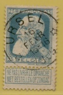 MW-3438   * URSEL   *    OCB 76   Sterstempel    COBA  20 - 1905 Grove Baard