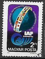 UNGHERIA 1983 CONGRESSO DI ASTRONOMIA YVERT. 2881 USATO VF - Ungheria