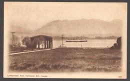 1932 Sepia View Card #505 Lumbermen's Arch, Vancouver BC Unused - 1903-1954 Reyes