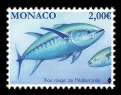 Monaco 2019 Mih. 3440 Fauna. Fishes. Atlantic Bluefin Tuna MNH ** - Neufs