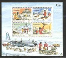 New Zealand 1984 Antarctic Research Miniature Sheet  MNH - New Zealand