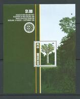 New Zealand 1989 Trees 1990 Stamp Exhibition Miniature Sheet MNH - Nueva Zelanda