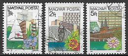 UNGHERIA 1983 SERIE ORDINARIA YVERT. 2284-2886 USATA VF - Ungheria