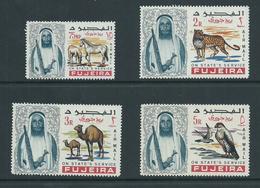 Fujeira 1965 Officials Airmail Set Of 4 MNH - Fujeira