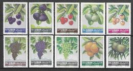 Lebanon 1962 - Fruits - Libanon