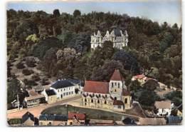 Chiry. Le Chateau Et Eglise. En Avion Au Dessus De..... Edit Lapie.  Postée 1964 - Altri Comuni