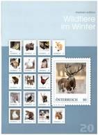 Austria, 2016. Wildlife In Winter (booklet) - Briefmarken