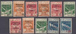 FIUME - 1919 - Lotto Di 11 Valori Nuovi MH: Yvert 114/119, 121, 122, 124/126, Come Da Immagine. - 8. WW I Occupation