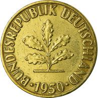 Monnaie, République Fédérale Allemande, 10 Pfennig, 1950, Stuttgart, SUP - 10 Pfennig
