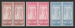 Egypt - 1925 - Pair - RARE - ( International Geographical Congress ) - Complete Set - MNH** - Egypt