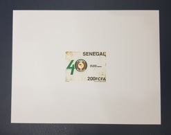 SENEGAL CEDEAO ECOWAS - JOINT ISSUE - DELUXE PROOF EPREUVE DE LUXE -  ULTRA RARE -  MNH - Sénégal (1960-...)