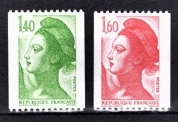 FRANCE  1982 - Y.T. N° 2191 ET 2192 - NEUFS** - France