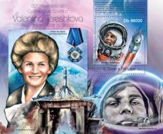 Sao Tome  2013  Space Valentina Tereshkova - Sao Tome And Principe