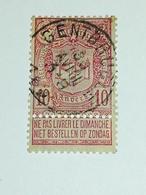 COB N ° 69 Oblitération Gentbrugge - 1894-1896 Expositions