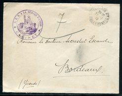 Enveloppe Du Cabinet Du Sous Secrétaire D 'Etat à La Démobilisation Pour Bordeaux En 1919 -  Réf M138 - Marcofilie (Brieven)