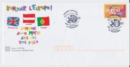 France 1999 Postal Stationary Bonjour L'Europe! Posted Strasbourg 1999 Philex France (C49**NB) - Postal Stamped Stationery