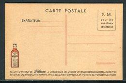 Carte FM , Publicité Frileuse , Non Circulé - Réf M148 - Marcophilie (Lettres)