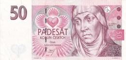 République Tchèque - Billet De 50 Korun - 1997 - Sv. Anezka Ceska - Czech Republic