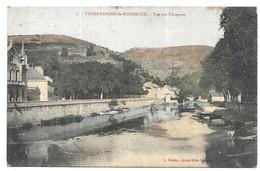 Villefranche De Rouergue Vue Sur L' Aveyron - Villefranche De Rouergue